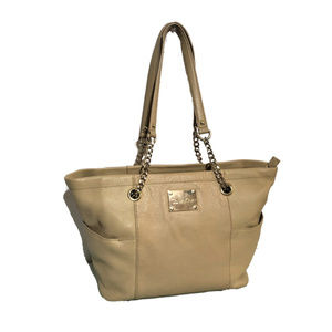 CALVIN KLEIN 'Hayden' Leather Tote Extra Large